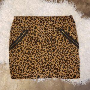 Bodycon Cheetah Print Bodycon skirt Large